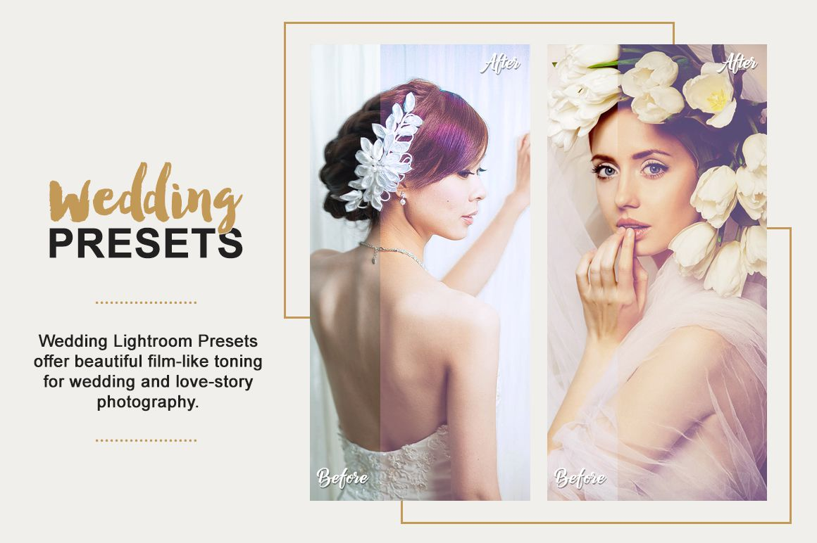 Wedding Lightroom Presets Collection example image 4