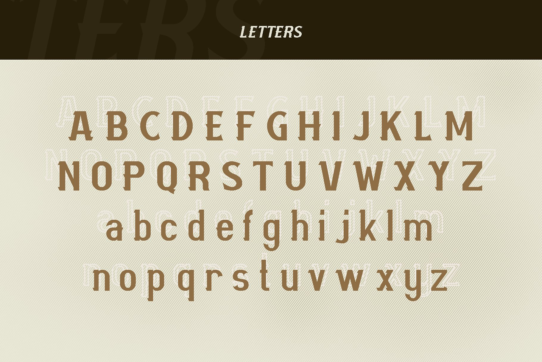 Mourbout - NFC Font Family example image 2