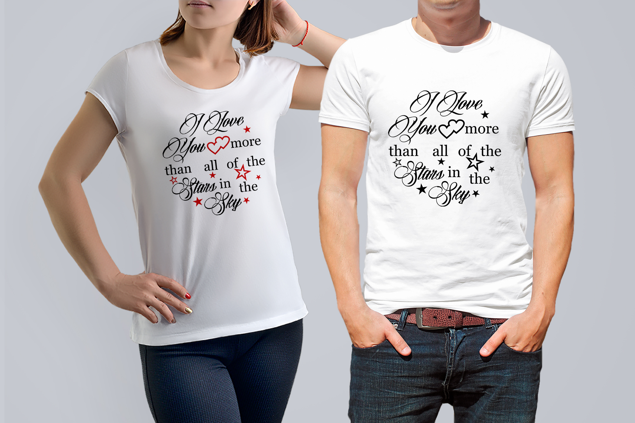 I love you more than all the stars Valentine svg Love svg example image 4