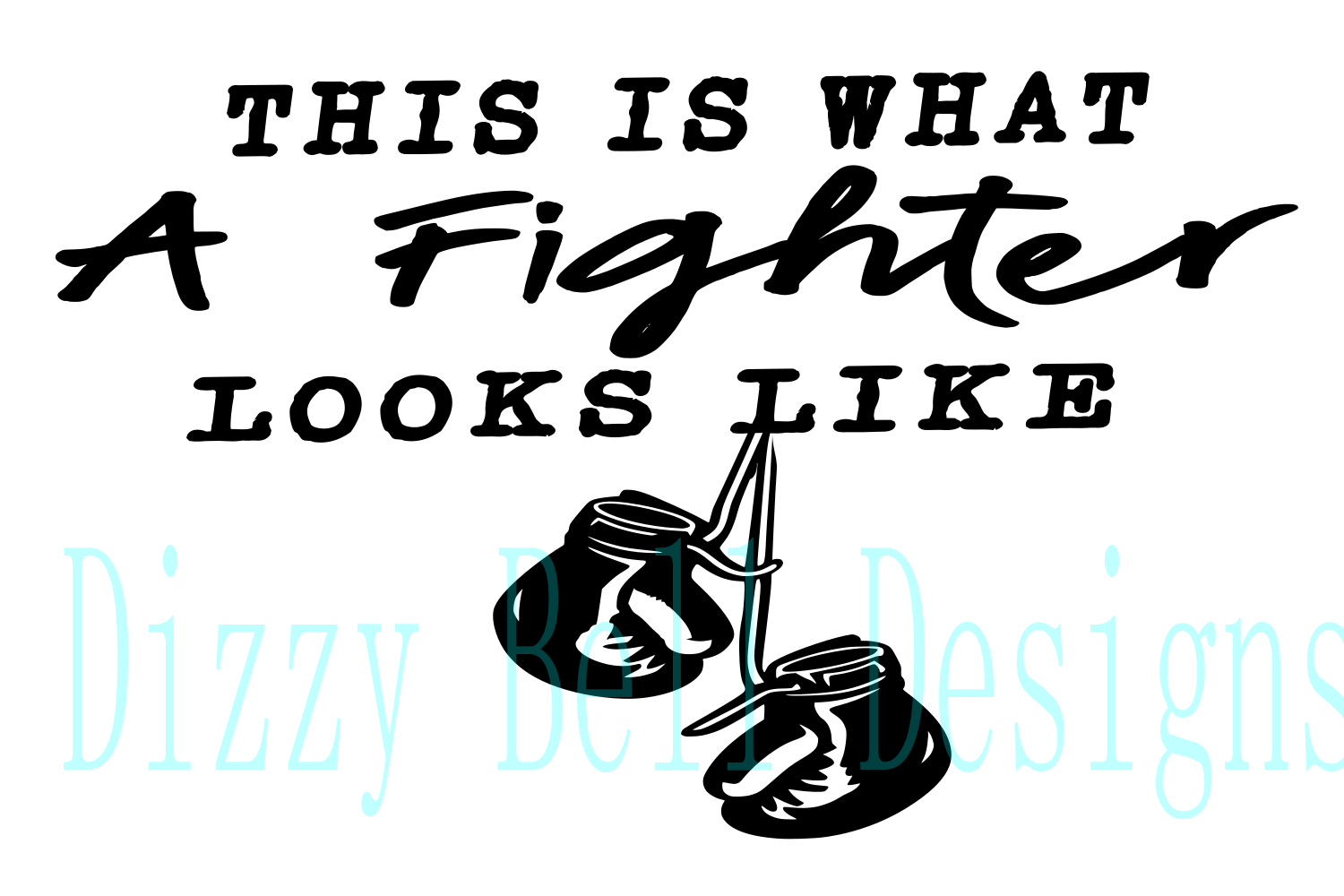 This Is What A Fighter Looks Like - Boxing, Fighter SVG example image 1