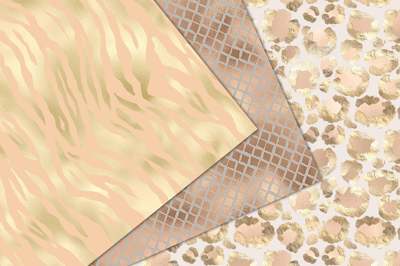 Shimmer Animal Print Digital Paper example image 4