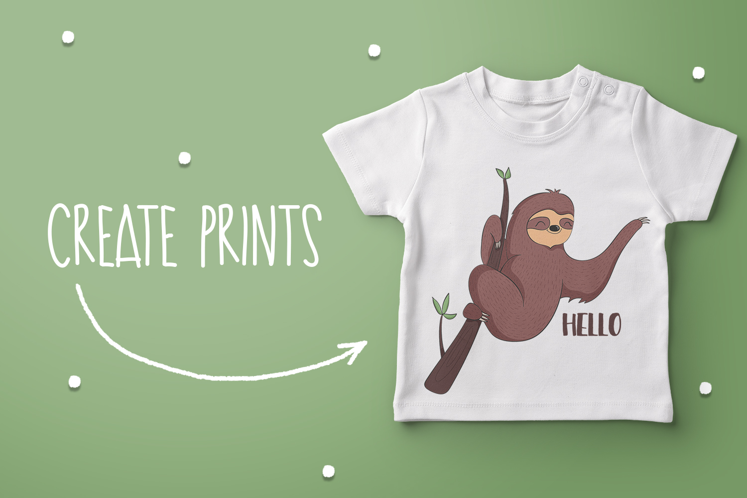 Lovable Sloths 2 example image 3