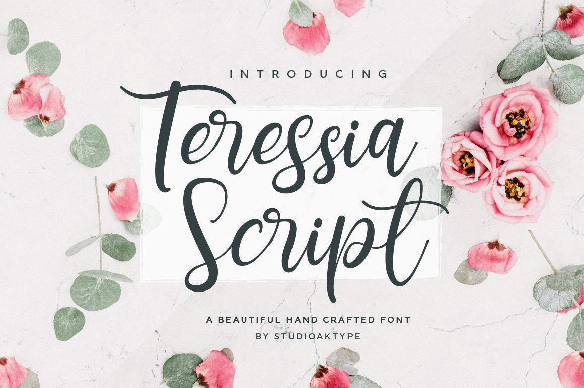 Teressia Script example image 1