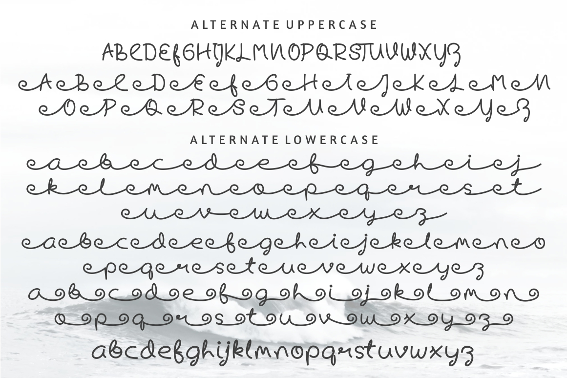 Skywave Typeface example image 6
