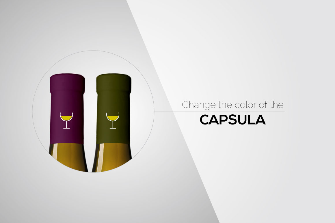 All-In-One Wine Bottle Mockup example image 3