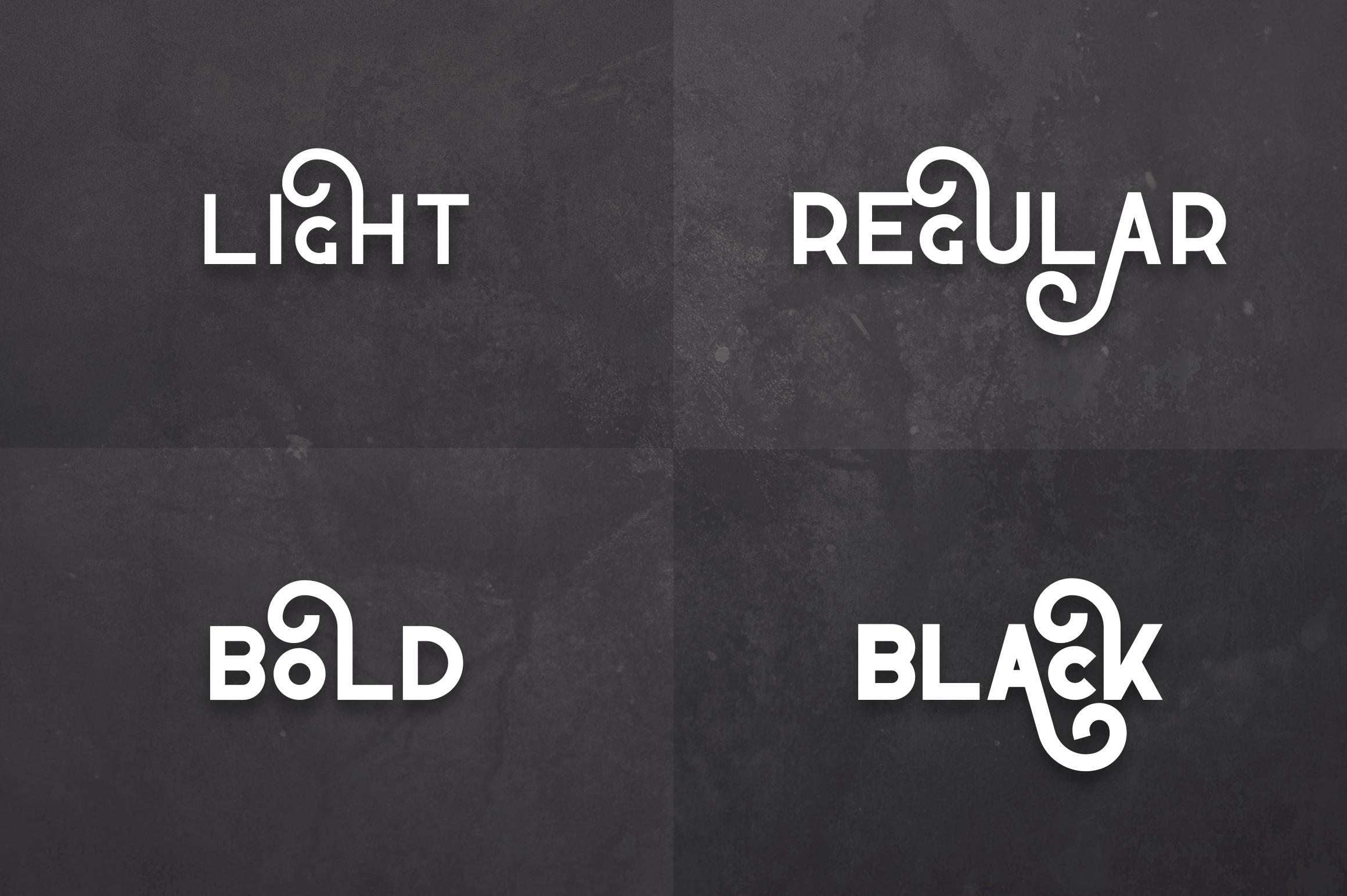 Propaganda - Vintage typeface example image 2
