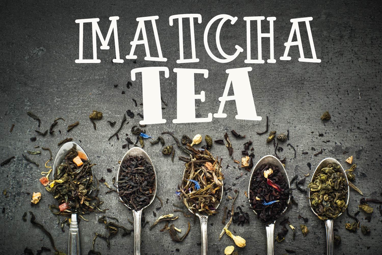 Tea Bundle - A Fun Font Bundle with Varie-Tea!! example image 5