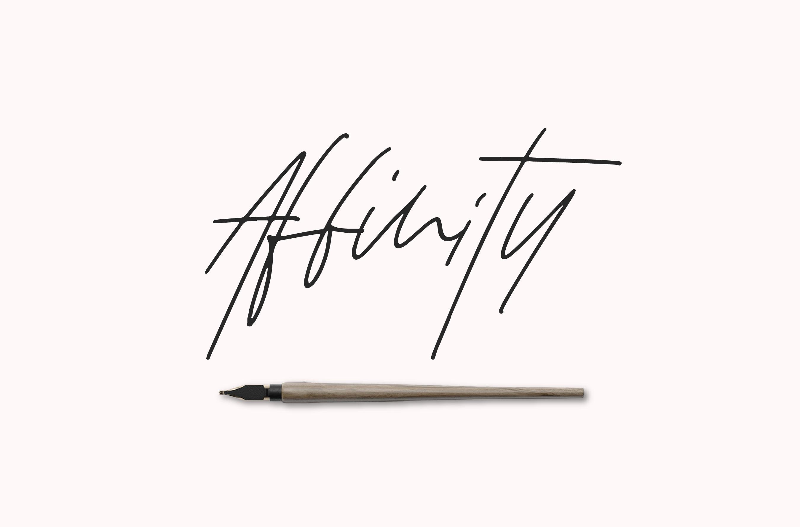 Affinity Font Set example image 1