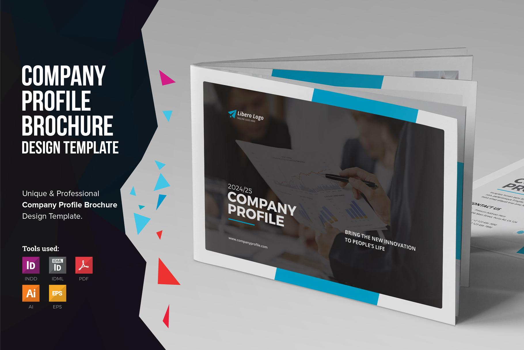 Company Profile Brochure Design V2 111737 Brochures Design Bundles