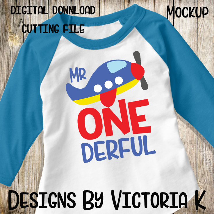 Mr One derful, 1st Birthday, SVG, DXF, PNG example image 2