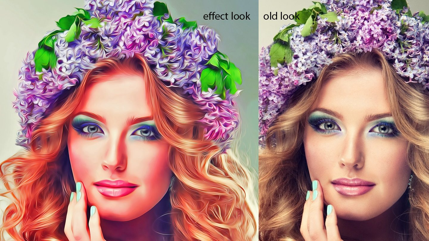 Oil Art Photoshop Action example image 5