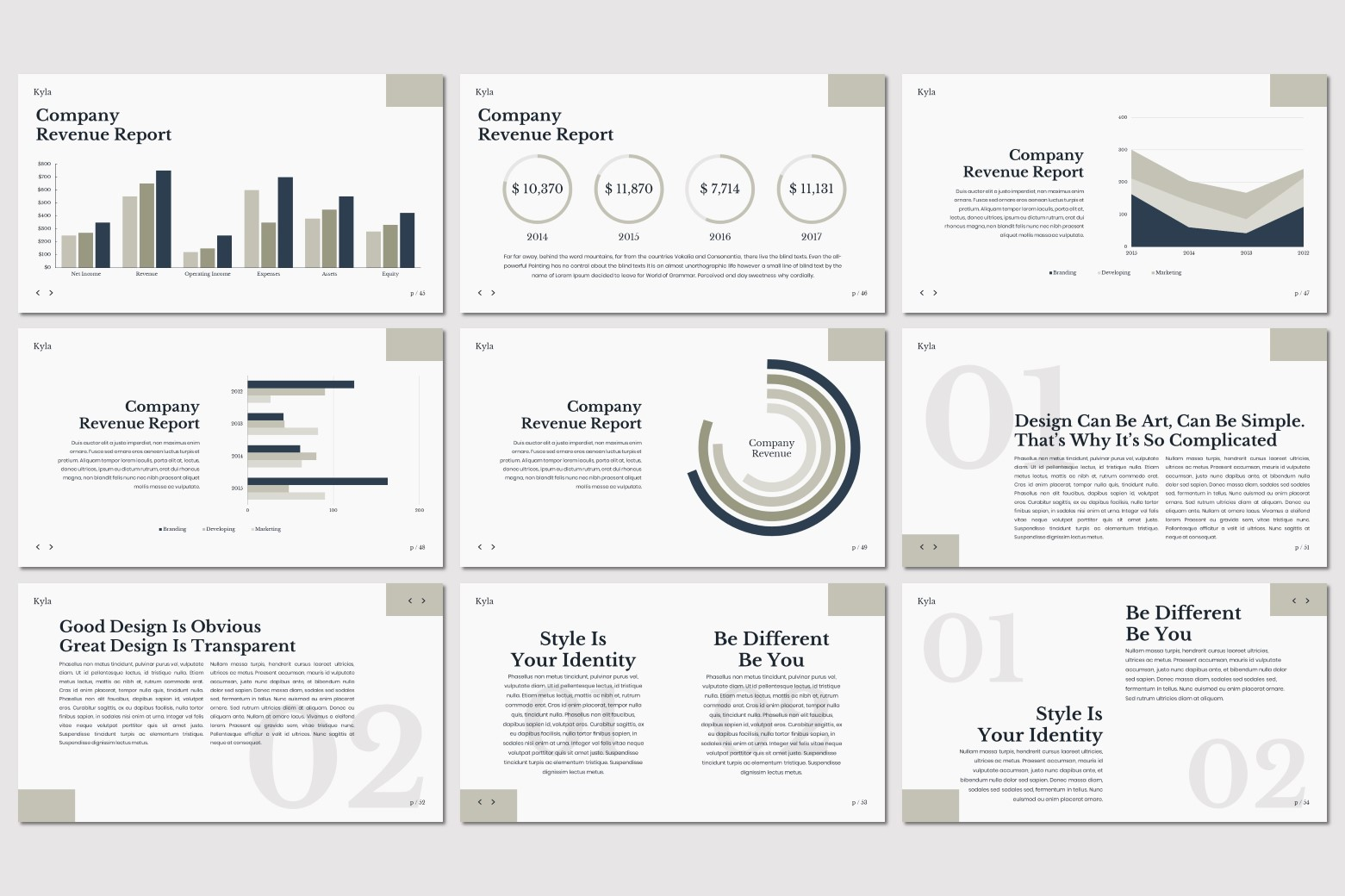 Kyla - Powerpoint Template example image 11