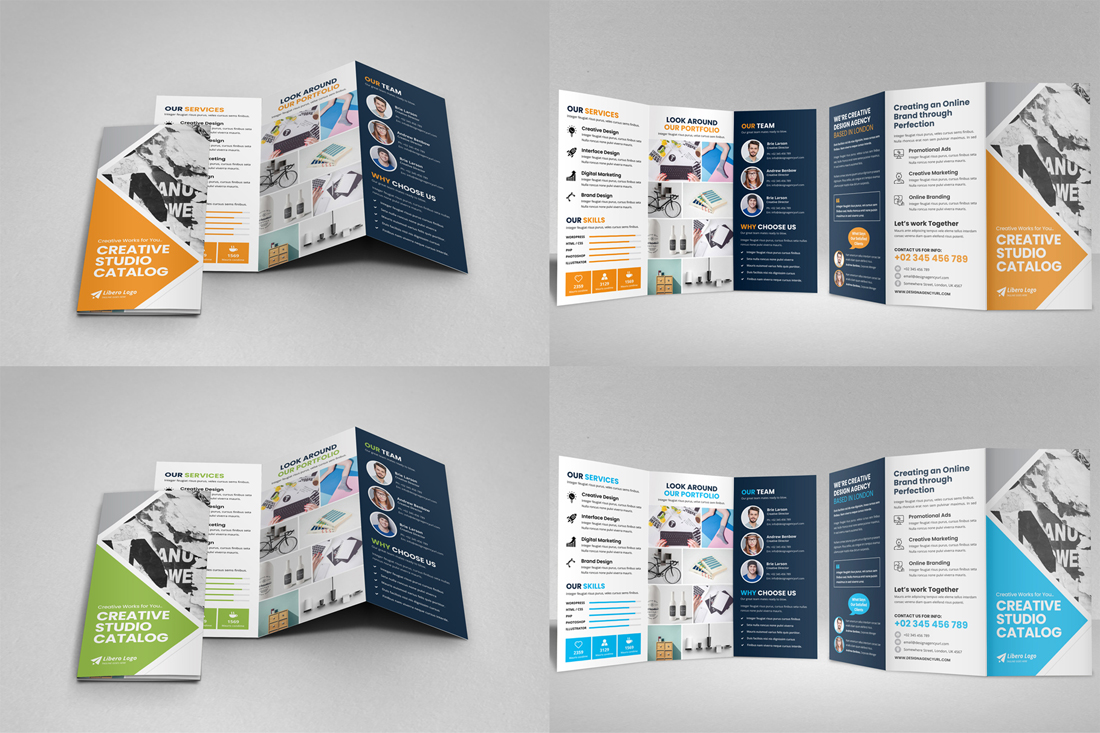 Portfolio Brochure Bundle example image 23