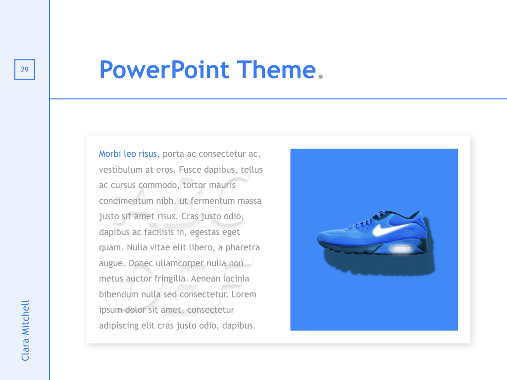 Fashion Designer PowerPoint Template example image 28