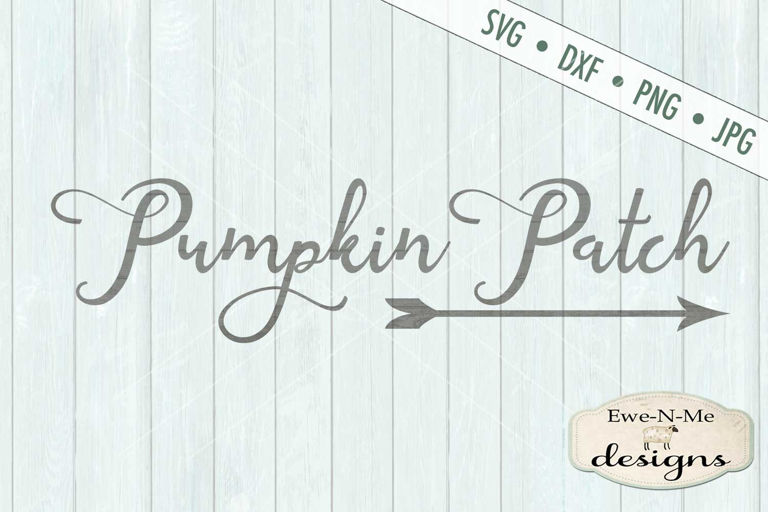 Pumpkin Patch Arrow SVG DXF Files example image 2
