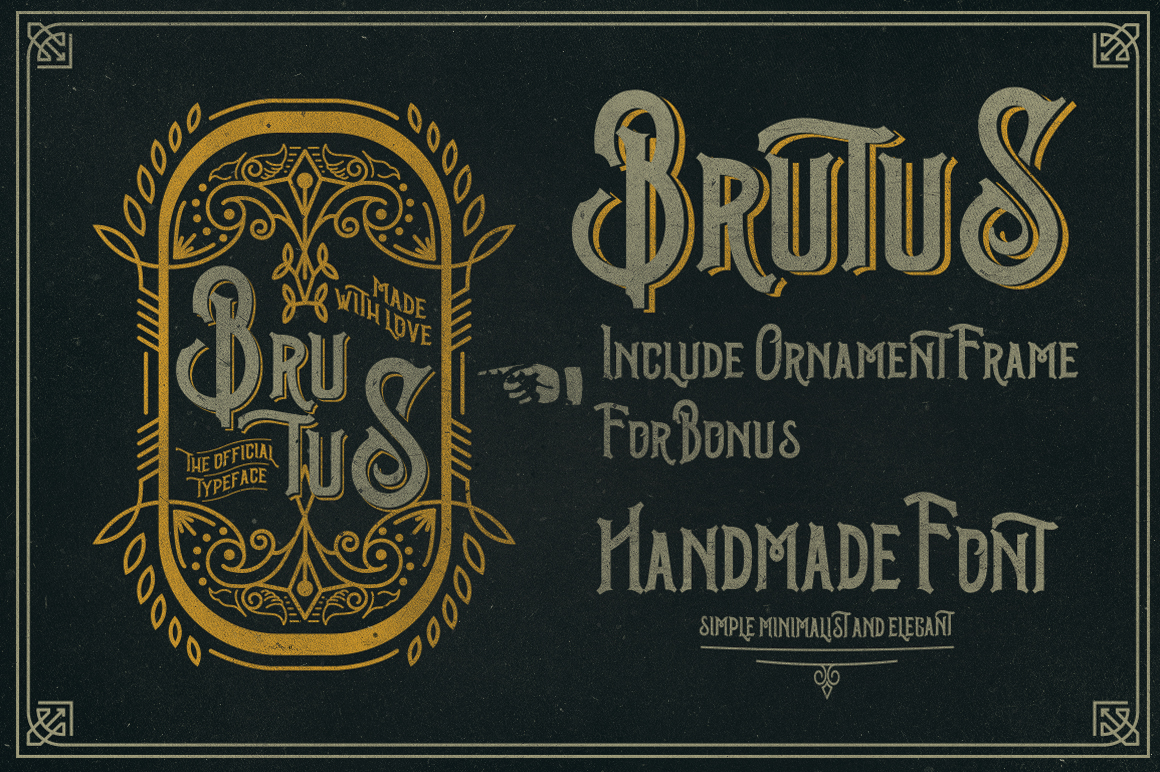 Brutus Typeface example image 2
