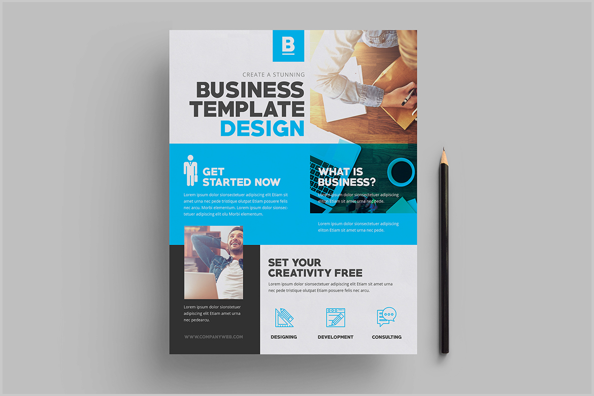 Corporate Flyer example image 3