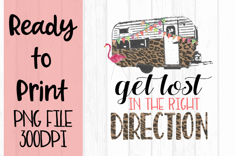 Get Lost in the Right Direction Ready to Print example image 1