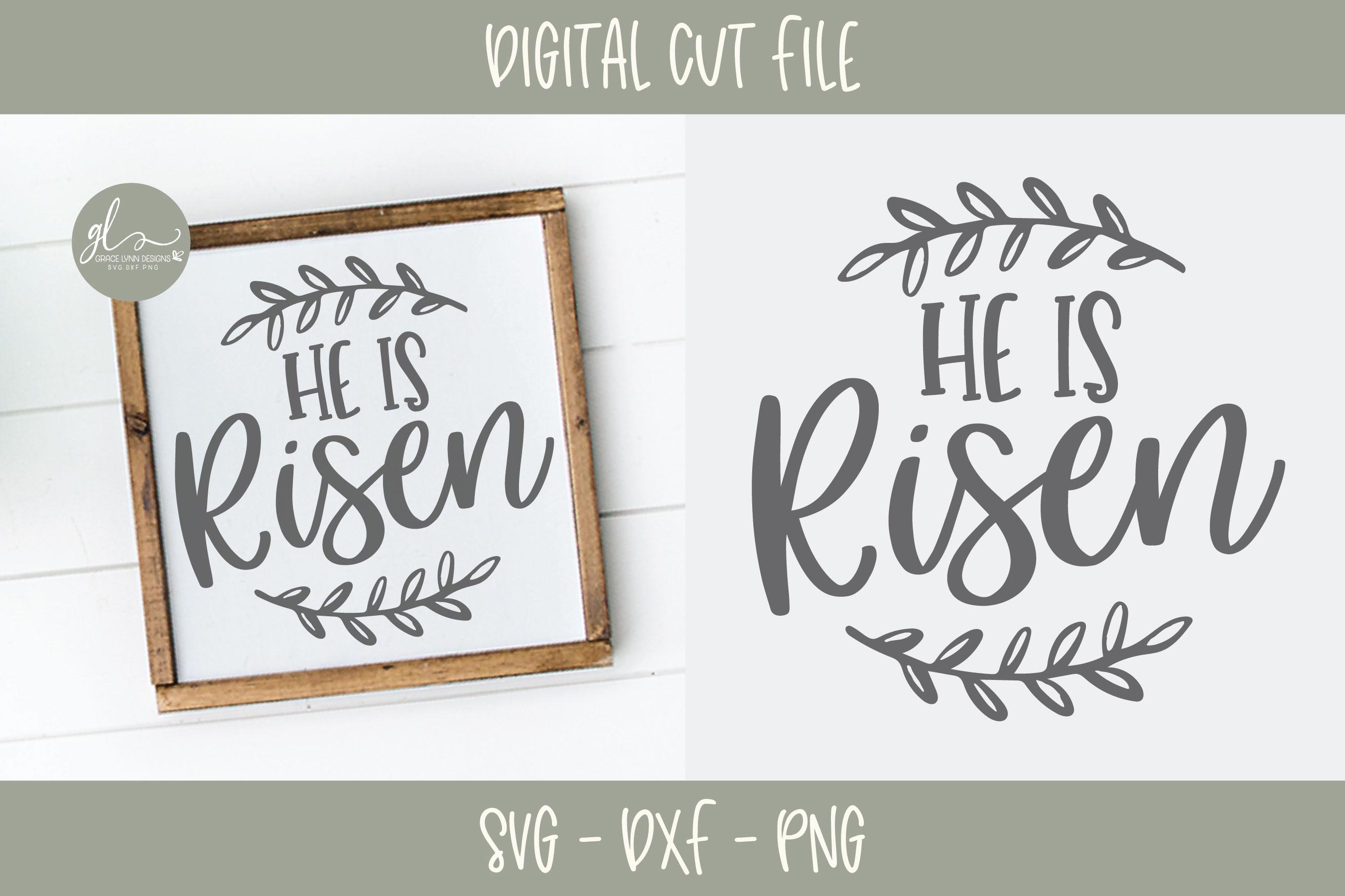 Easter SVG Bundle - 12 Easter Designs - SVG, DXF & PNG example image 12