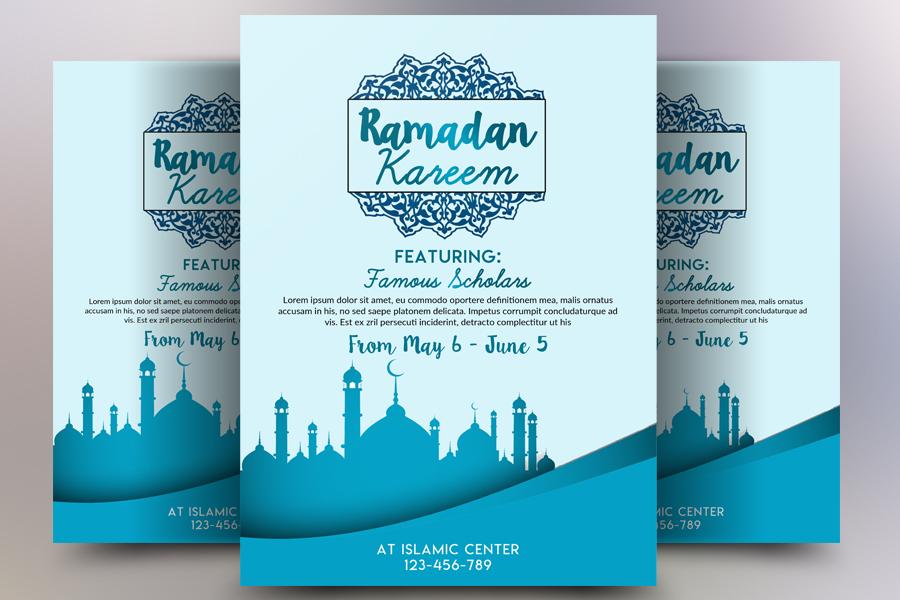 Ramdan Kareem Flyer Template example image 1