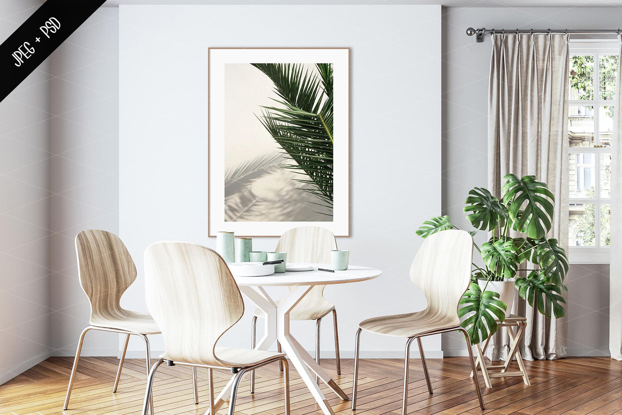 Interior mockup BUNDLE - frame & wall mockup creator example image 15