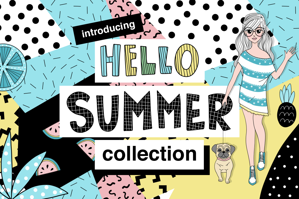 Hello Summer - Doodle Collection example image 1