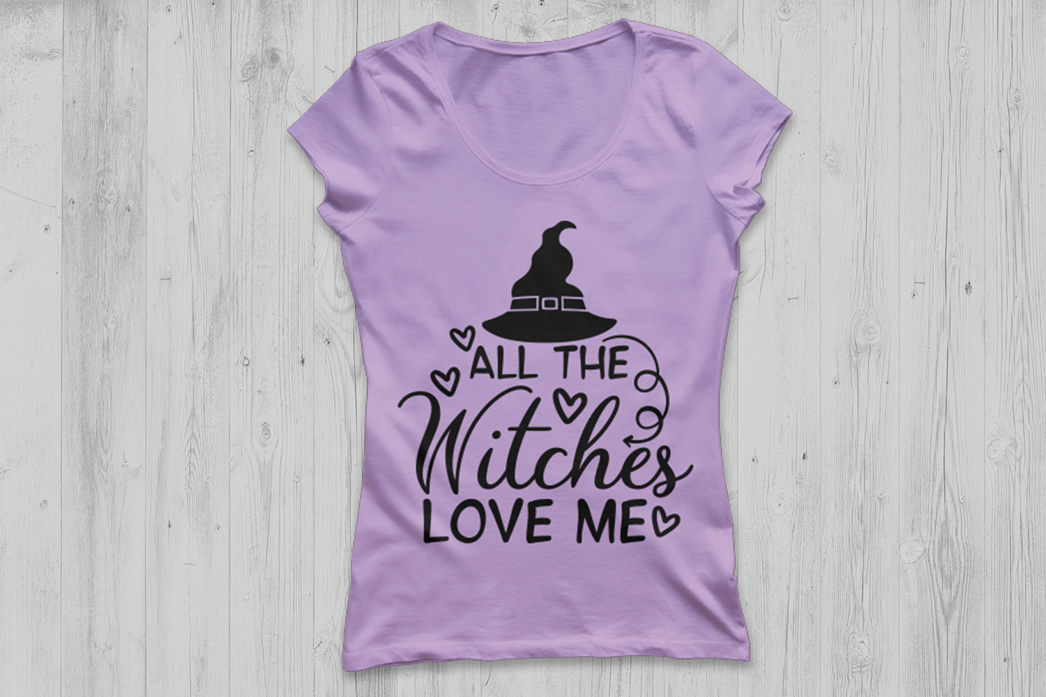 All The Witches Love Me Svg, Halloween Svg, Witch Svg. example image 2