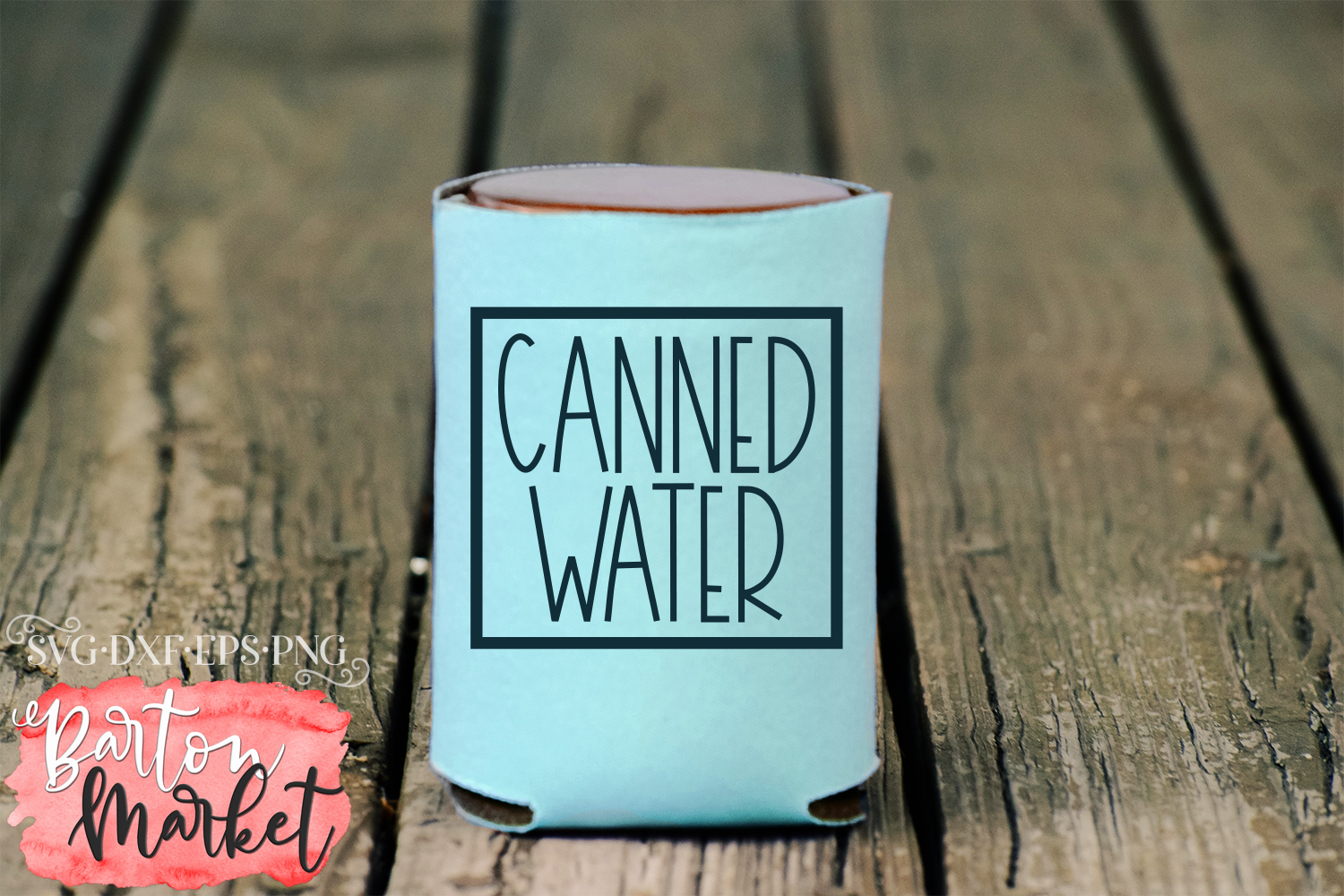 Canned Water SVG DXF EPS PNG example image 3