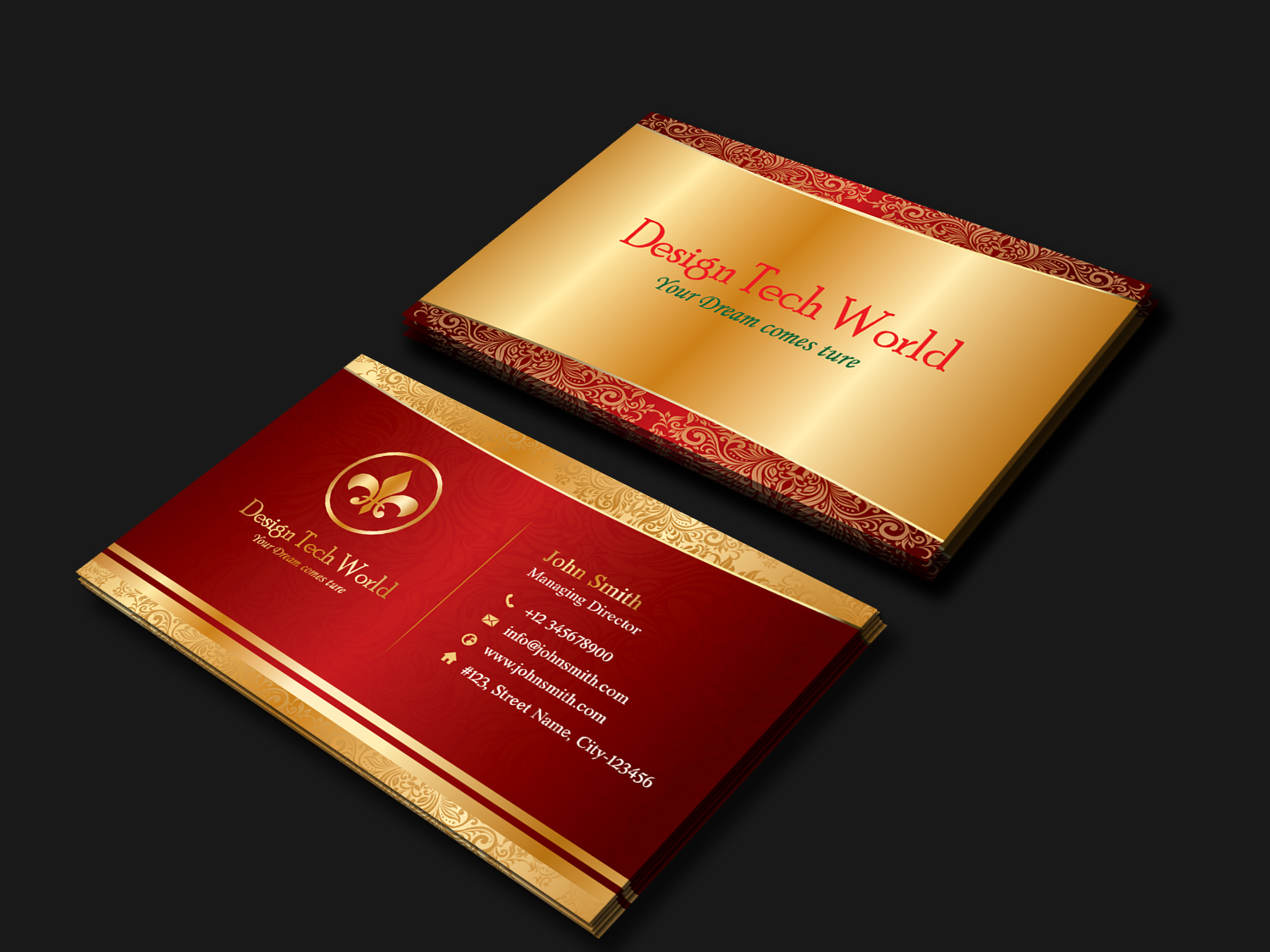 5 Business card bundle - Limited Period Offer example image 4