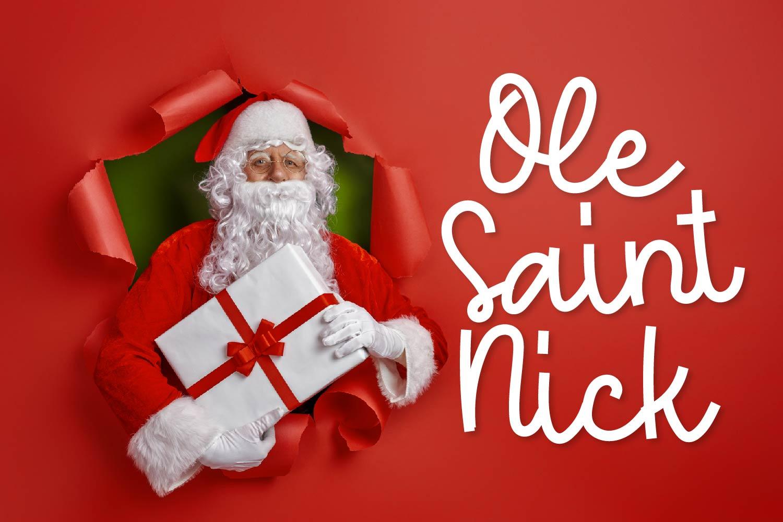 Ole Saint Nick - A Monoline Script example image 1