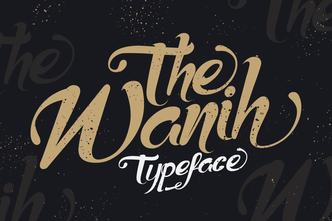 Wanih Typeface example image 1