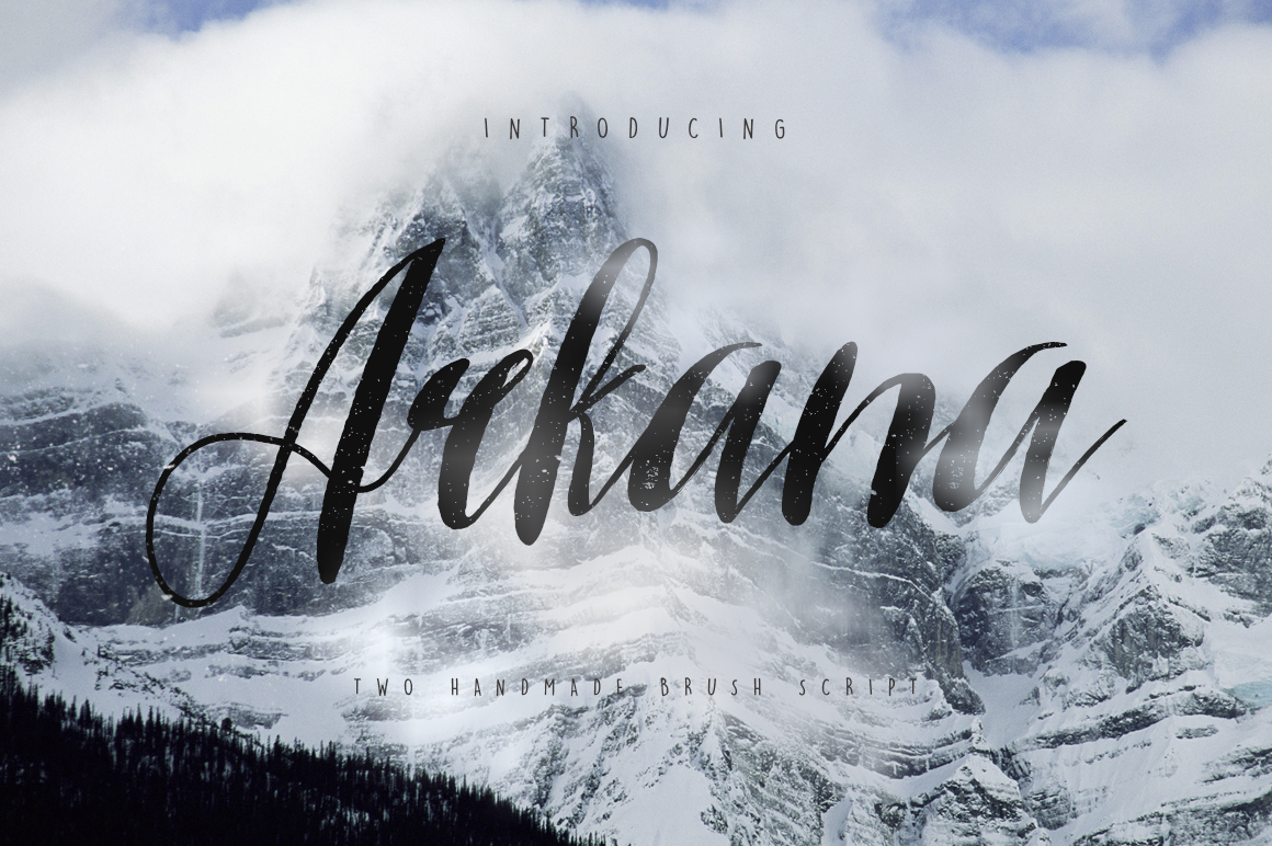 Arkana Script - Vintage Font example image 1