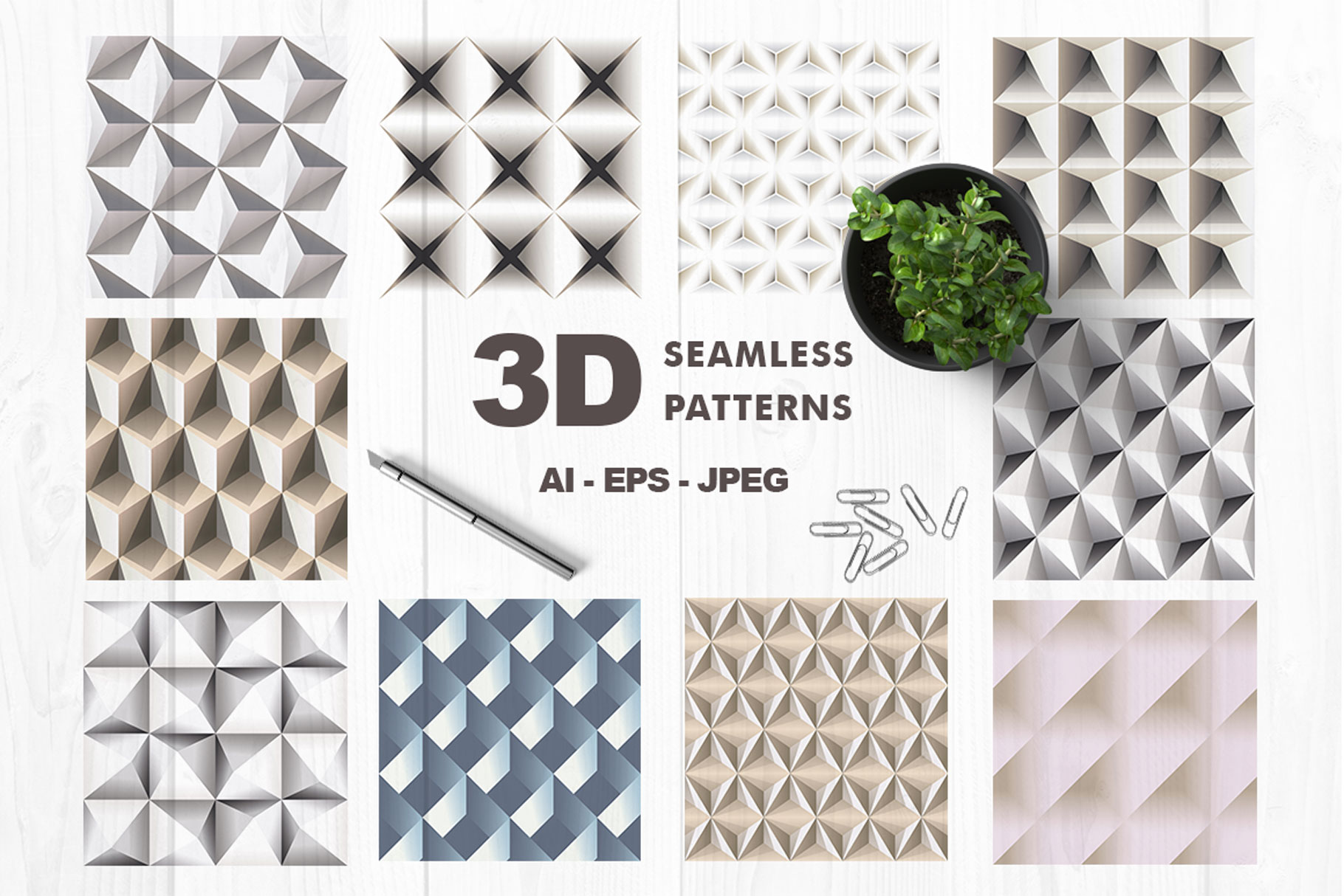 3D Patterns example image 1
