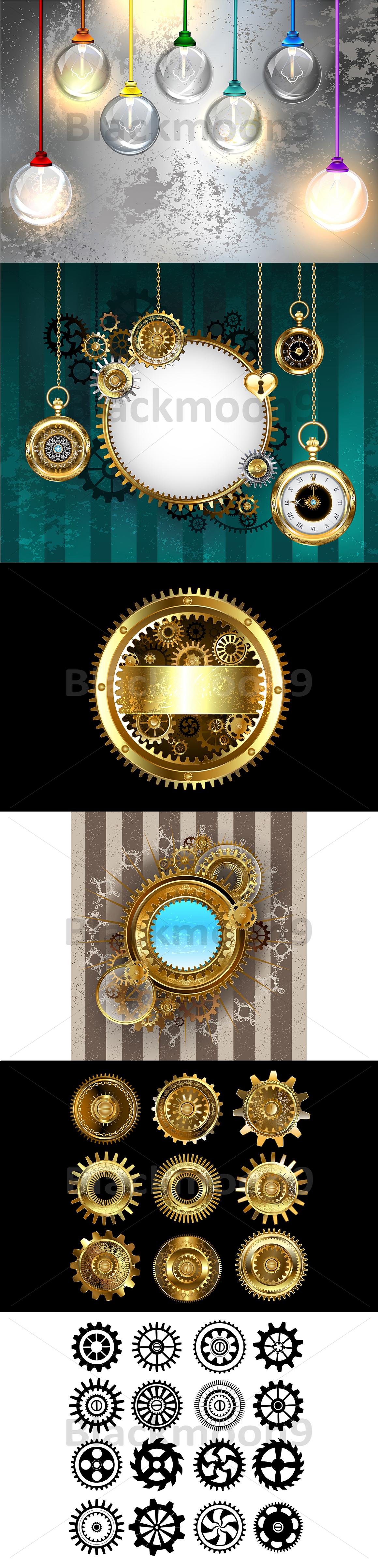 Steampunk Bundle example image 9