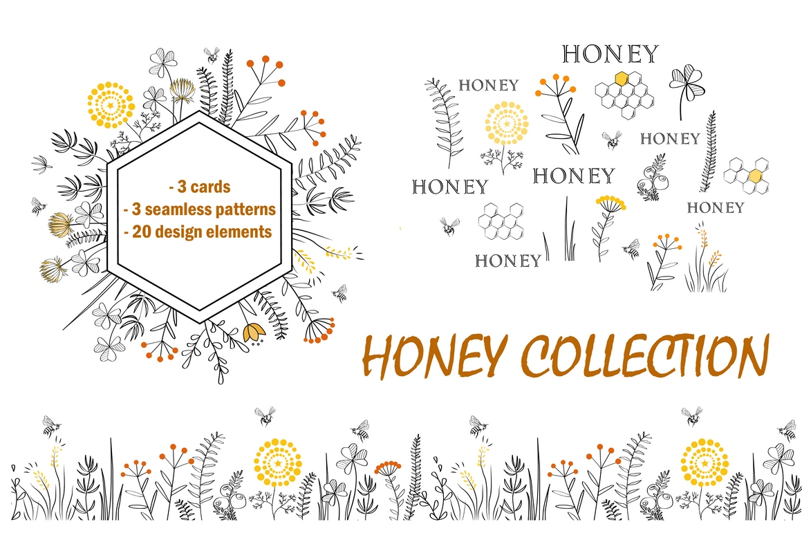 Honey Collection example image 1