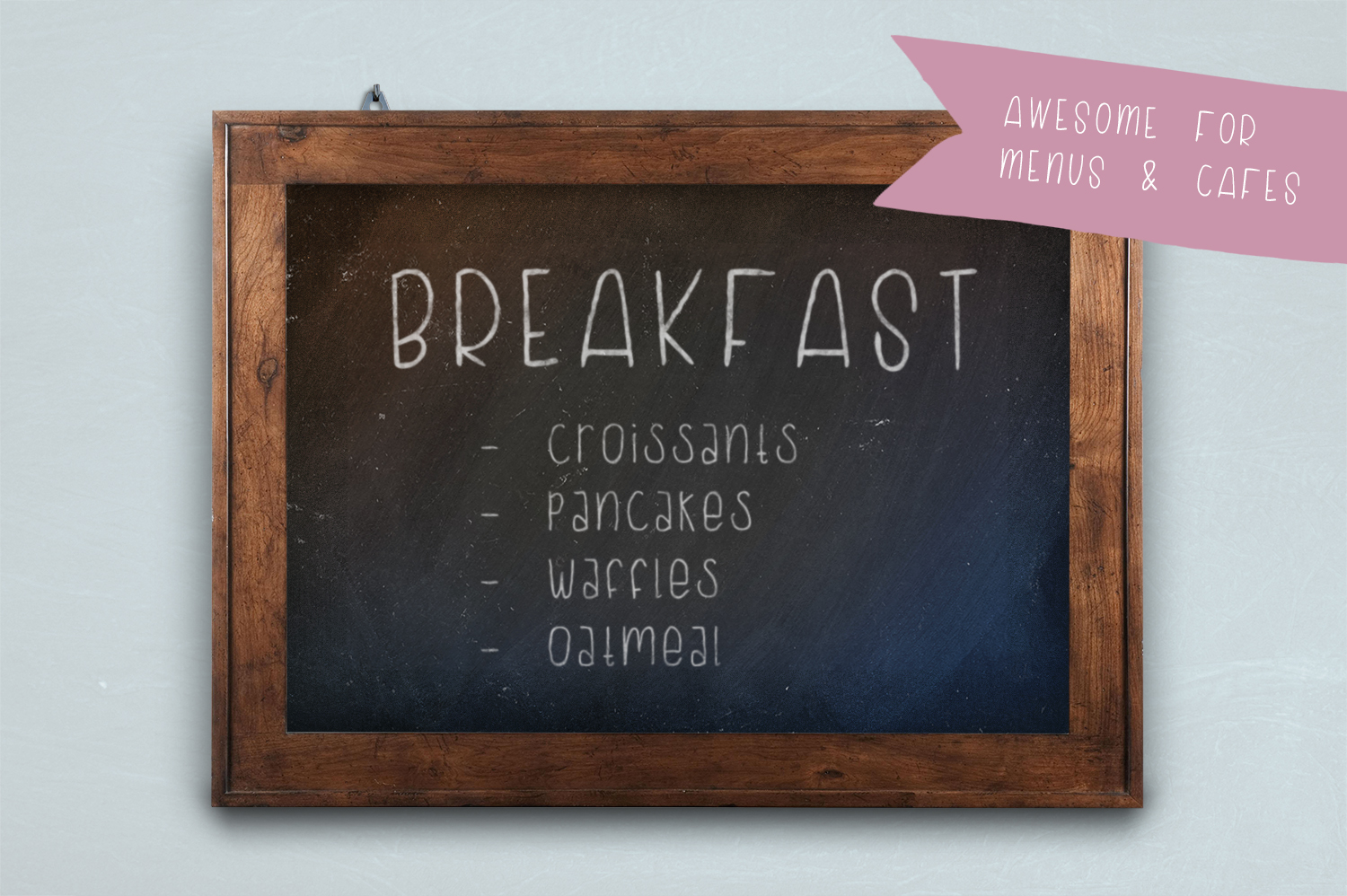 Buttermilk Biscuit Hand-lettered Sans Font example image 2