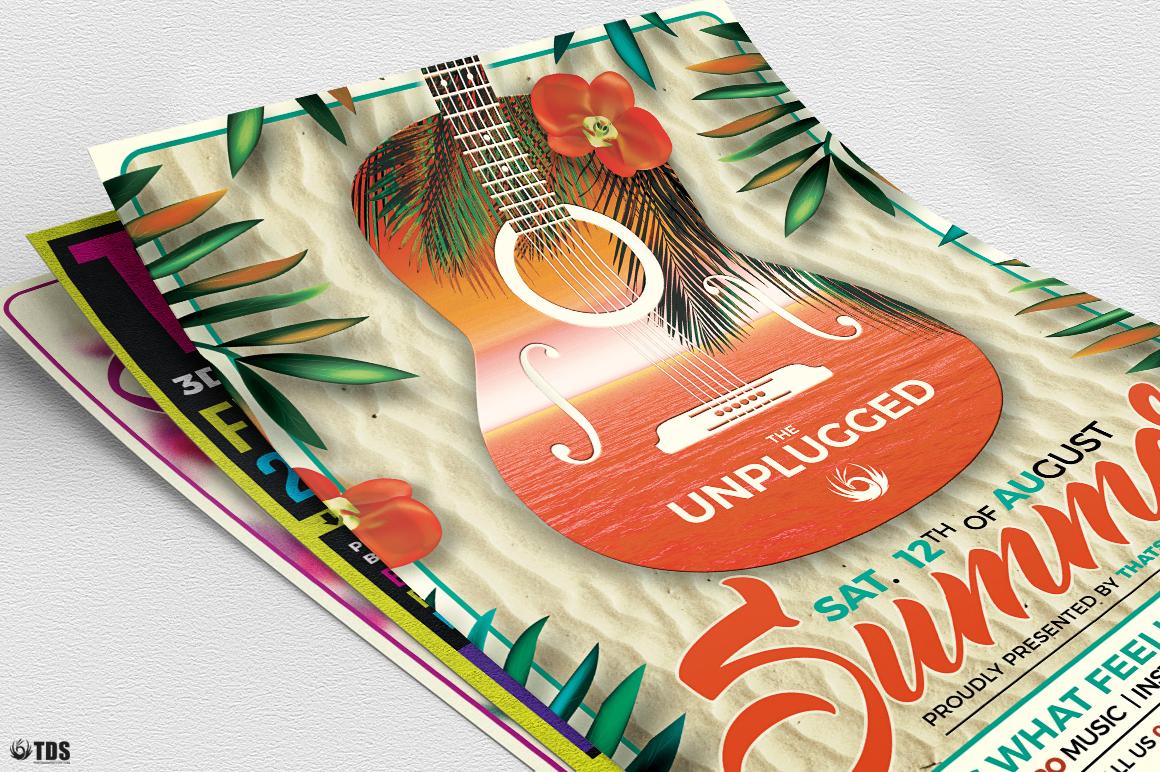 Summer Concerts Flyer Bundle example image 8
