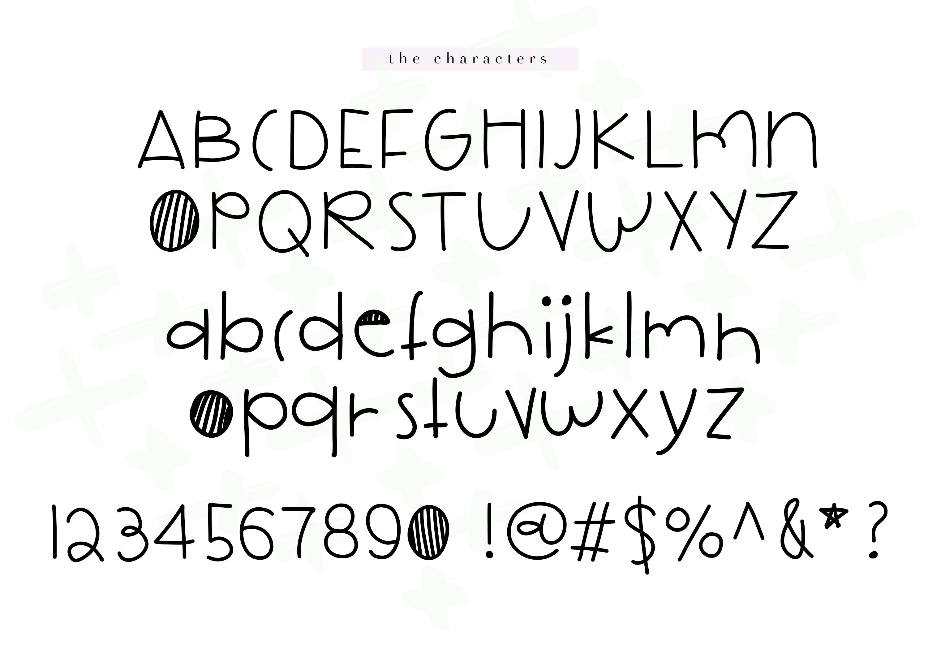Cookie Monster - A Cute Handwritten Font example image 7