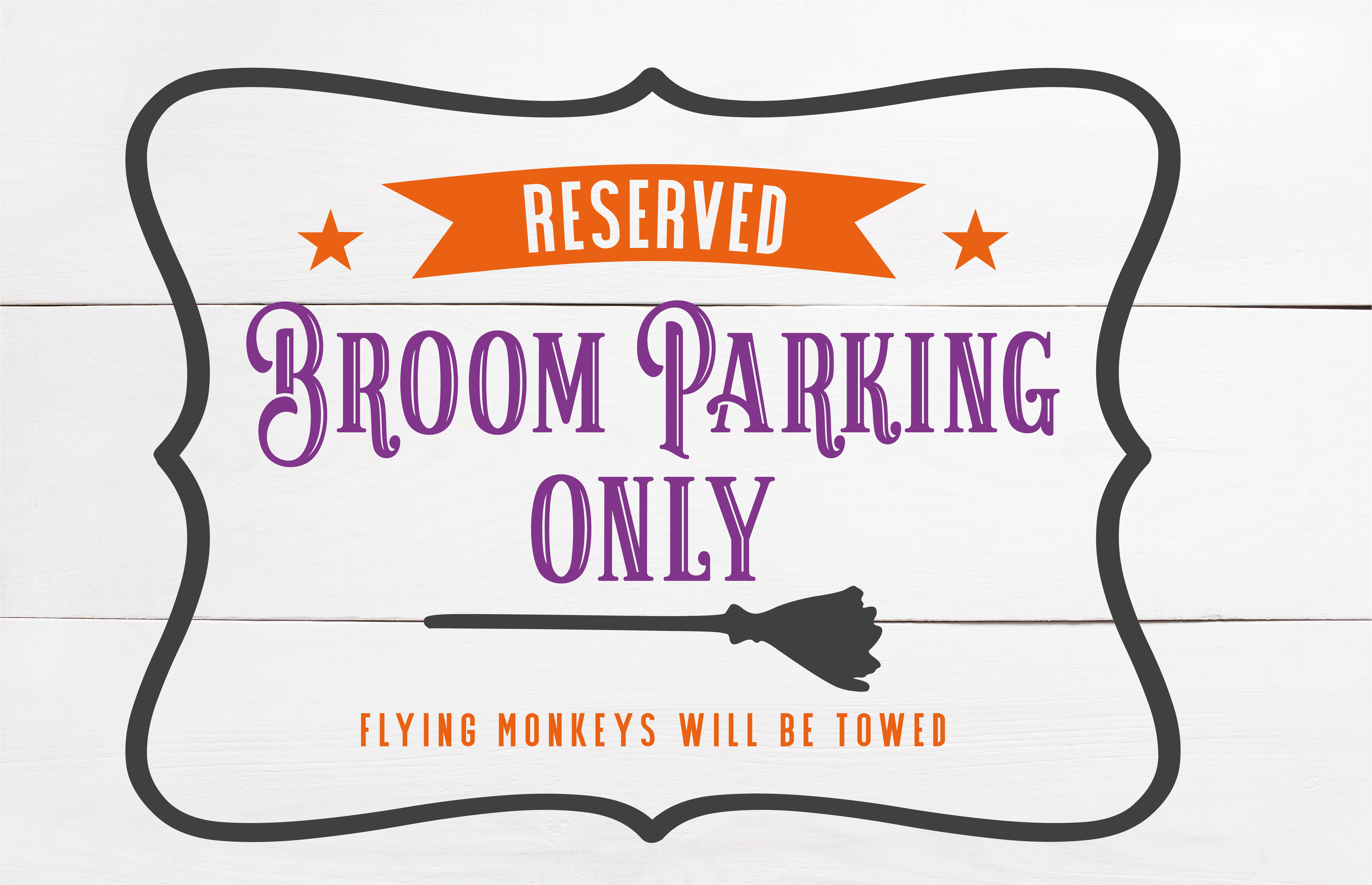Broom Parking SVG example image 2