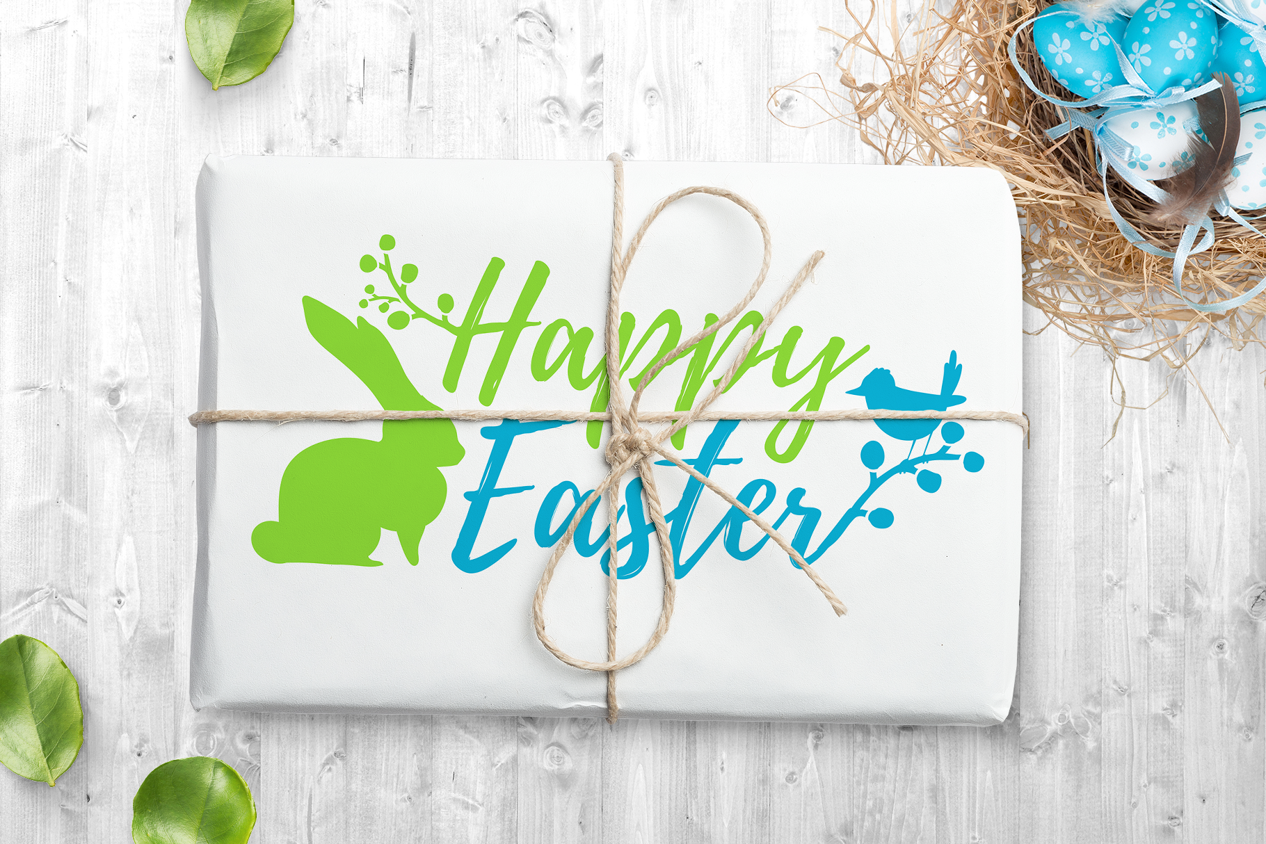 Happy Easter logo set example image 3