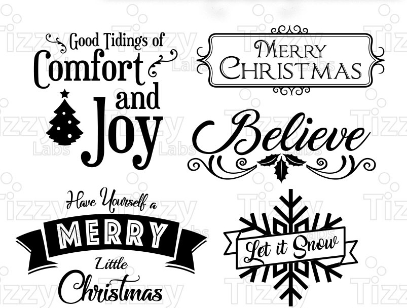 christmas bundle 1 svg files svg files for cricut christmas svg files for silhouette christmas