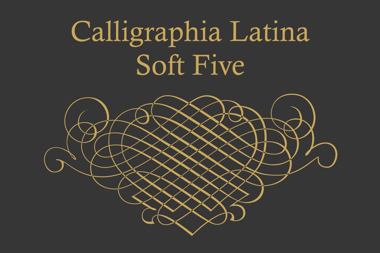 Calligraphia Latina Soft Five example image 1