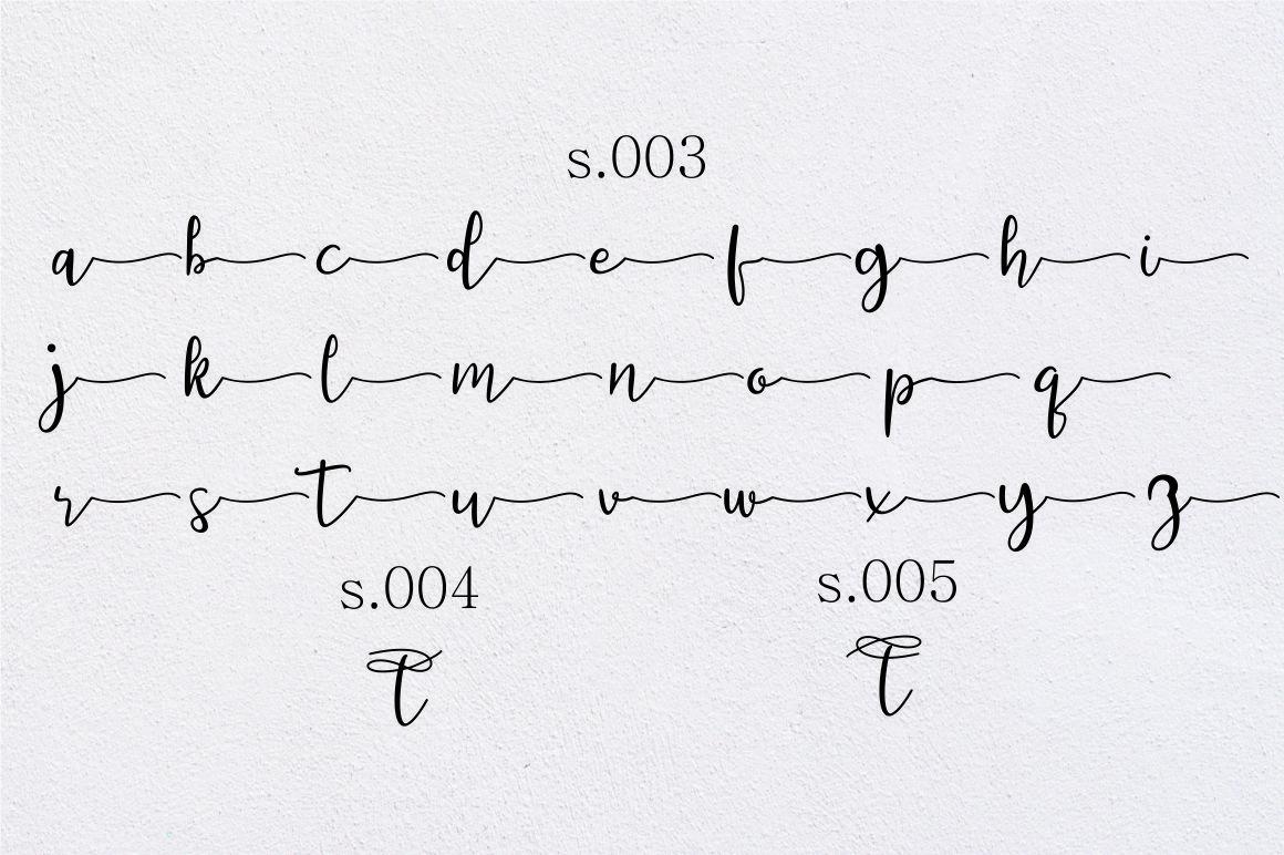 featrisse // casual script font example image 11