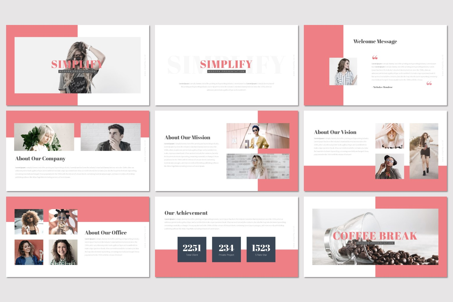 Simplify - Google Slides Template example image 2