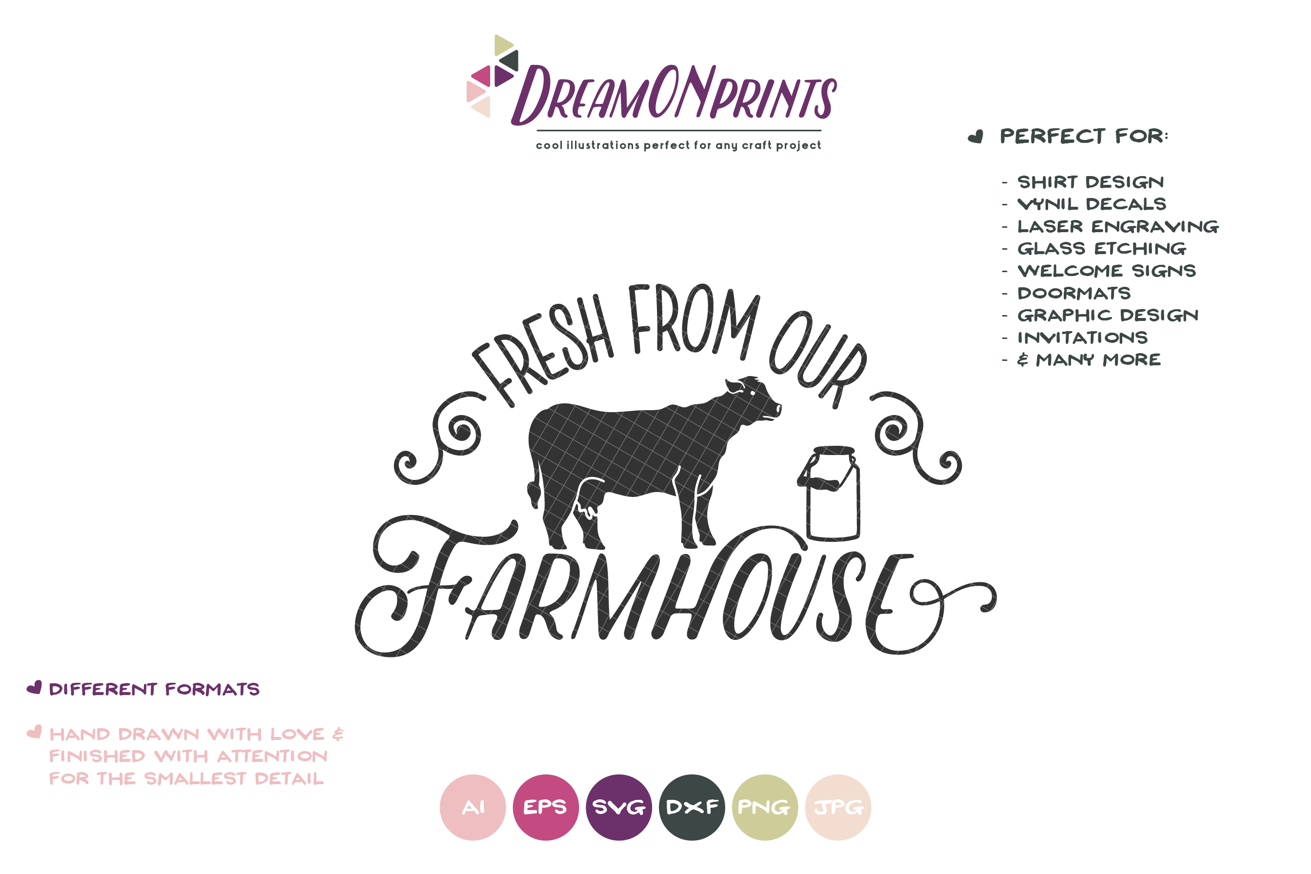 Fresh from Our Farmhouse SVG - Farm Sign SVg example image 2