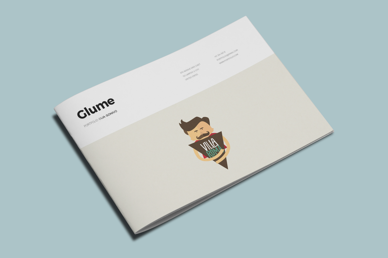 Glume A5 Portfolio example image 2