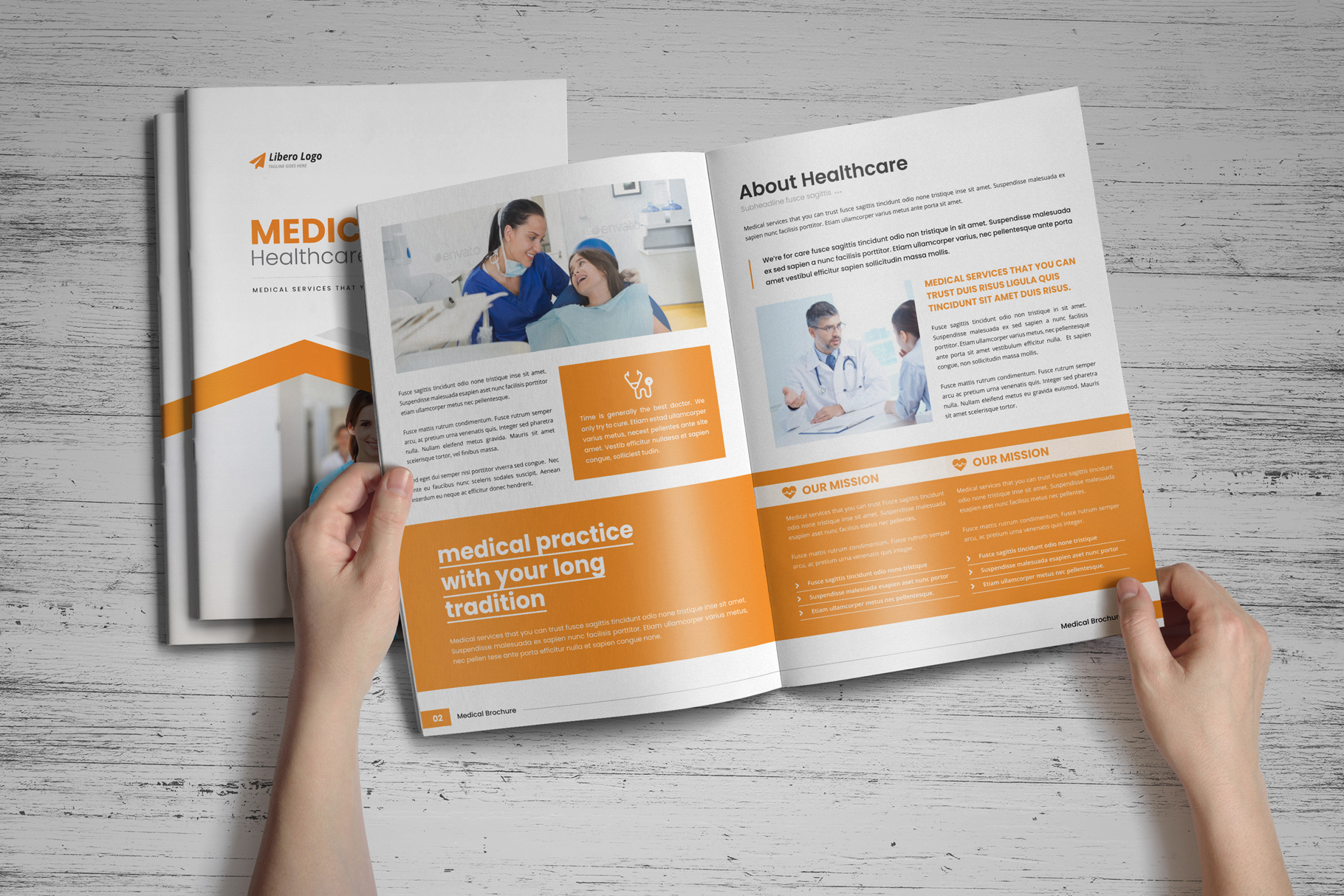 Medical HealthCare Brochure v6 example image 13