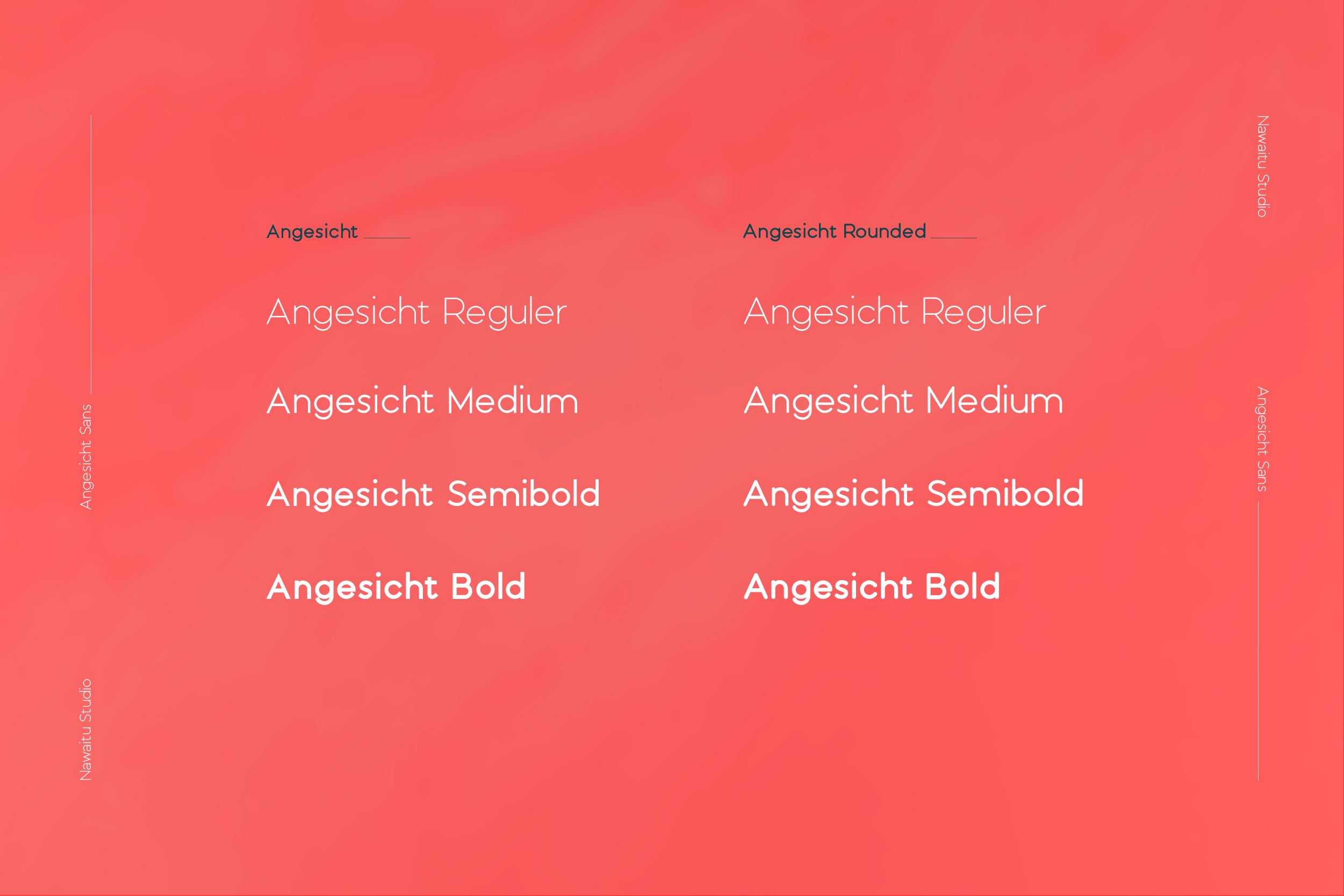 Angesicht   Modern Sans Serif example image 2