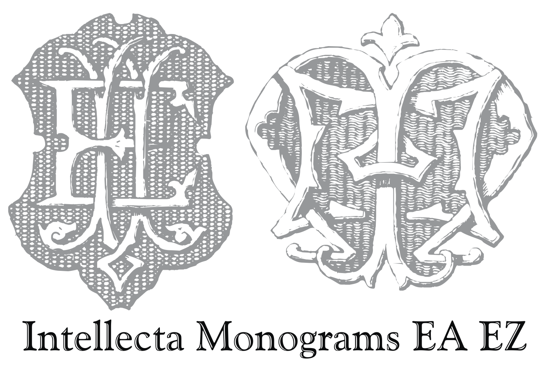 Intellecta Monograms EA EZ example image 2