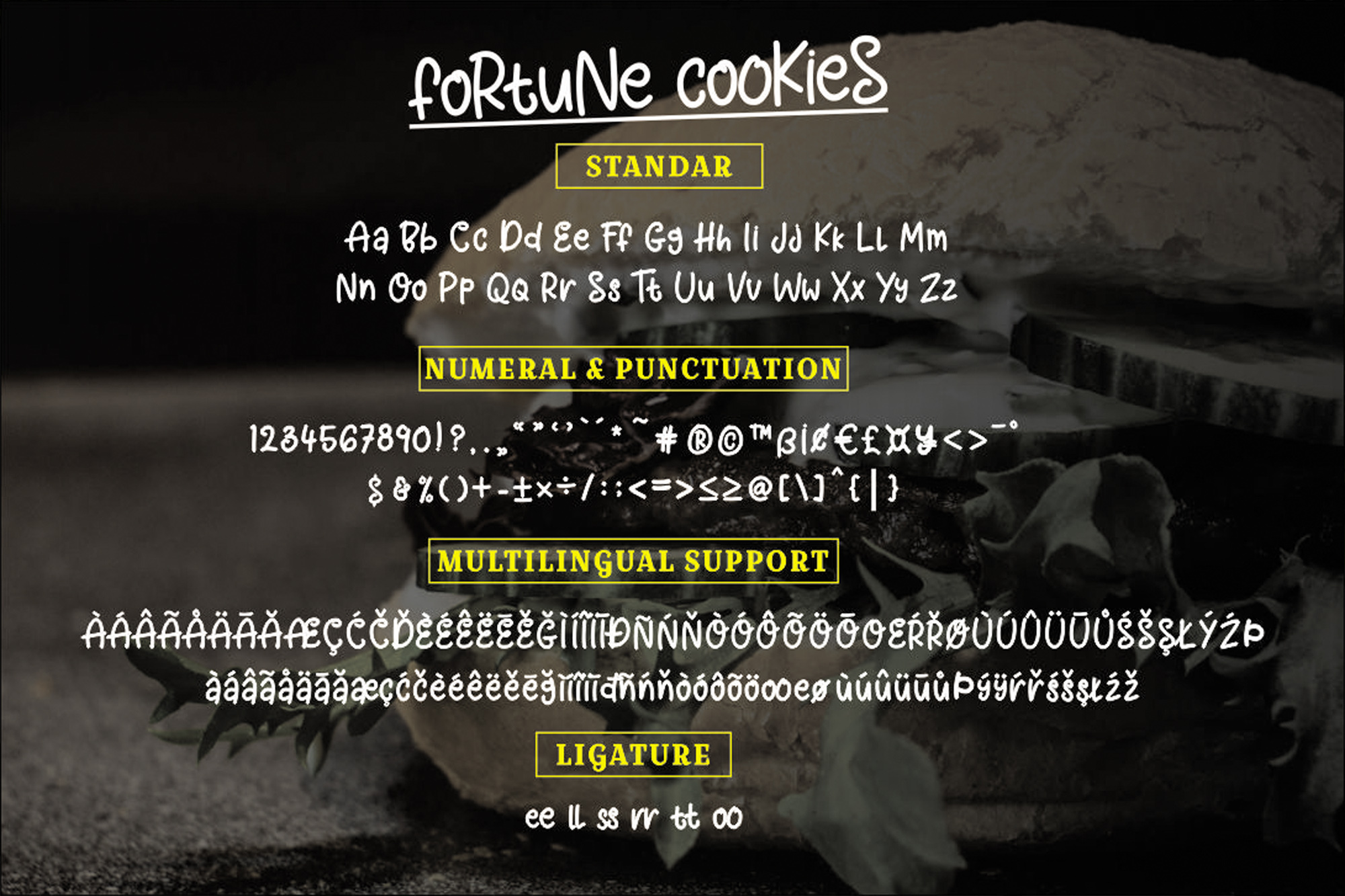 Fortune Cookies Font example image 5